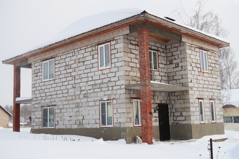 Строительство коттеджей, компания Архипул